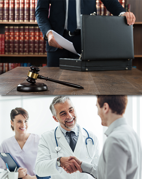 Legal and Medical Industries